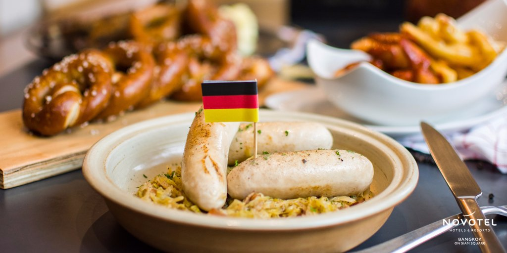 Join us for the Oktoberfest and celebrate the German culinary culture throughout the whole month of October. Participate to our fun activities and win Oktoberfest Packages every week at Gourmet Bar. #NovotelSiam #NovotelBKK #Oktoberfest  📍https://t.co/NZ8nZh43wt https://t.co/GGNIRYMTFa