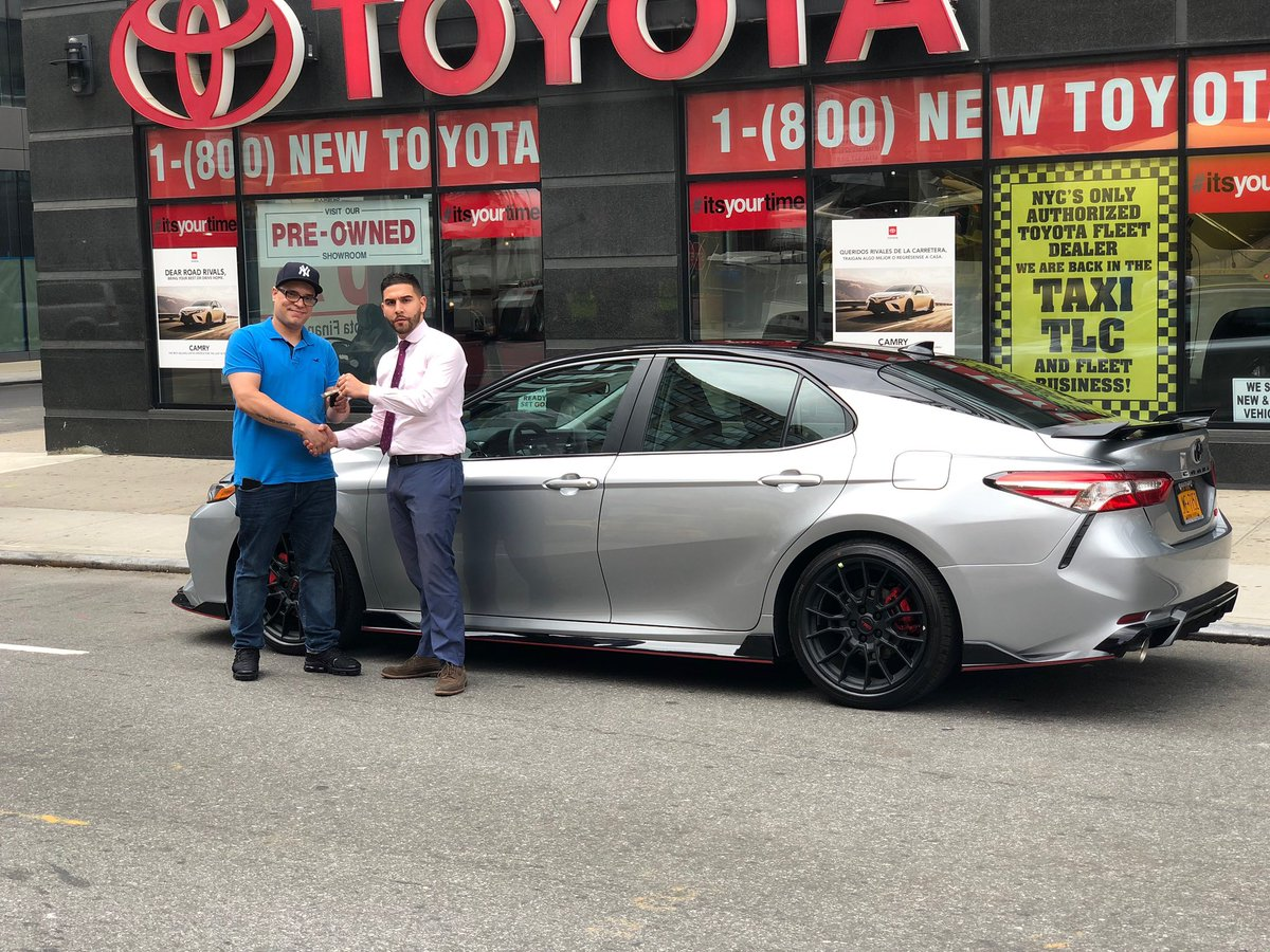 Toyota Dealership Nyc >> Toyota Of Manhattan On Twitter Congratulations To Damien