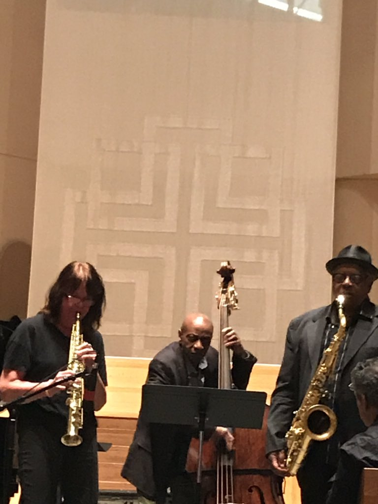 "Belated memorial concert for #sonnyfortune 1 year later at St.Peter's Church w/collaborator-friends Kenny Barron, George Cables, Michael Cochrane, Reggie Workman, Buster Williams, Chip Jackson, Billy Hart, Steve Johns, Ronnie Burrage, Joe Ford. ""Impressions"" closer w/Bill Saxton. pic.twitter.com/HvZH2MgMiG"