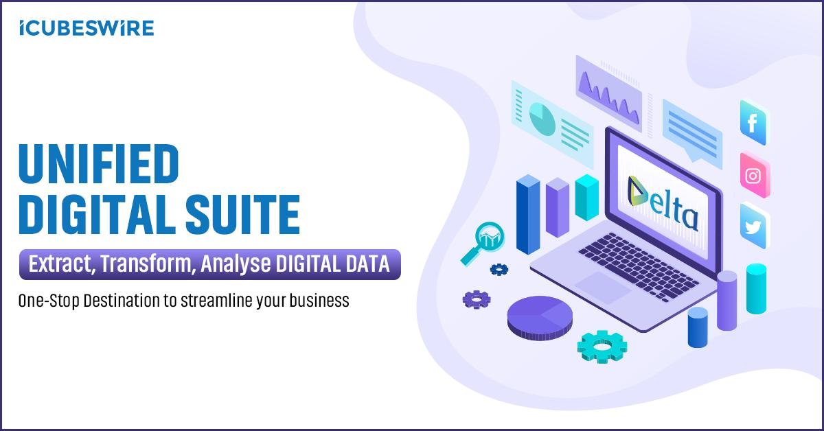 Cut the clutter now! DELTA helps you manage, monitor & mobilize your data with ease across digital channels. The platform is designed to augment & streamline your business. Discover DELTA now! #DiscoverDELTA #DELTAisKey #Augumentyourbusiness #iCubesWire https://t.co/G4M8CHYfRZ