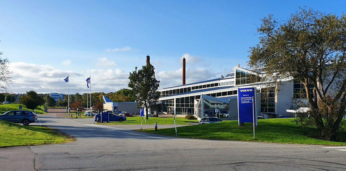 Visiting Customer Avenue and blå tåget tour #VolvoCars #telematicsvalley pic.twitter.com/hP9odb0TpL