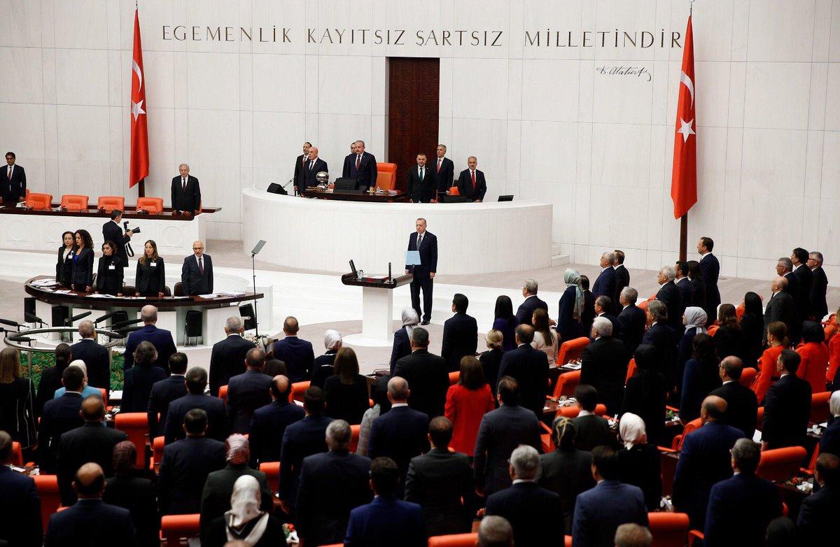 Sayın Cumhurbaşkanımızın açılış konuşmasıyla başlayan 27. Dönem 3. Yasama Yılı ülkemiz ve milletimiz için hayırlara vesile olsun. Milletvekillerimize Gazi Meclis çatısı altındaki yoğun çalışmalarında muvaffakiyetler diliyorum.