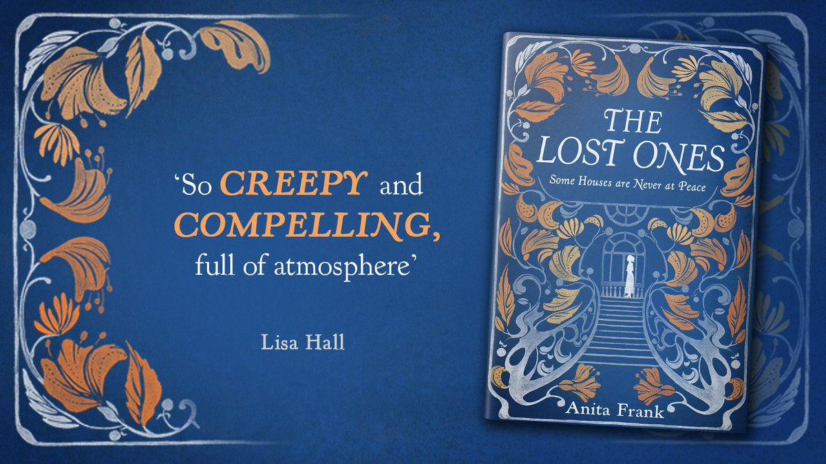 Ghost stories are definitely the thing for Autumn and Halloween, and we have the perfect one for you. Some houses are never at peace... #TheLostOnes by Anita Frank (@Ajes74) is out 31 October