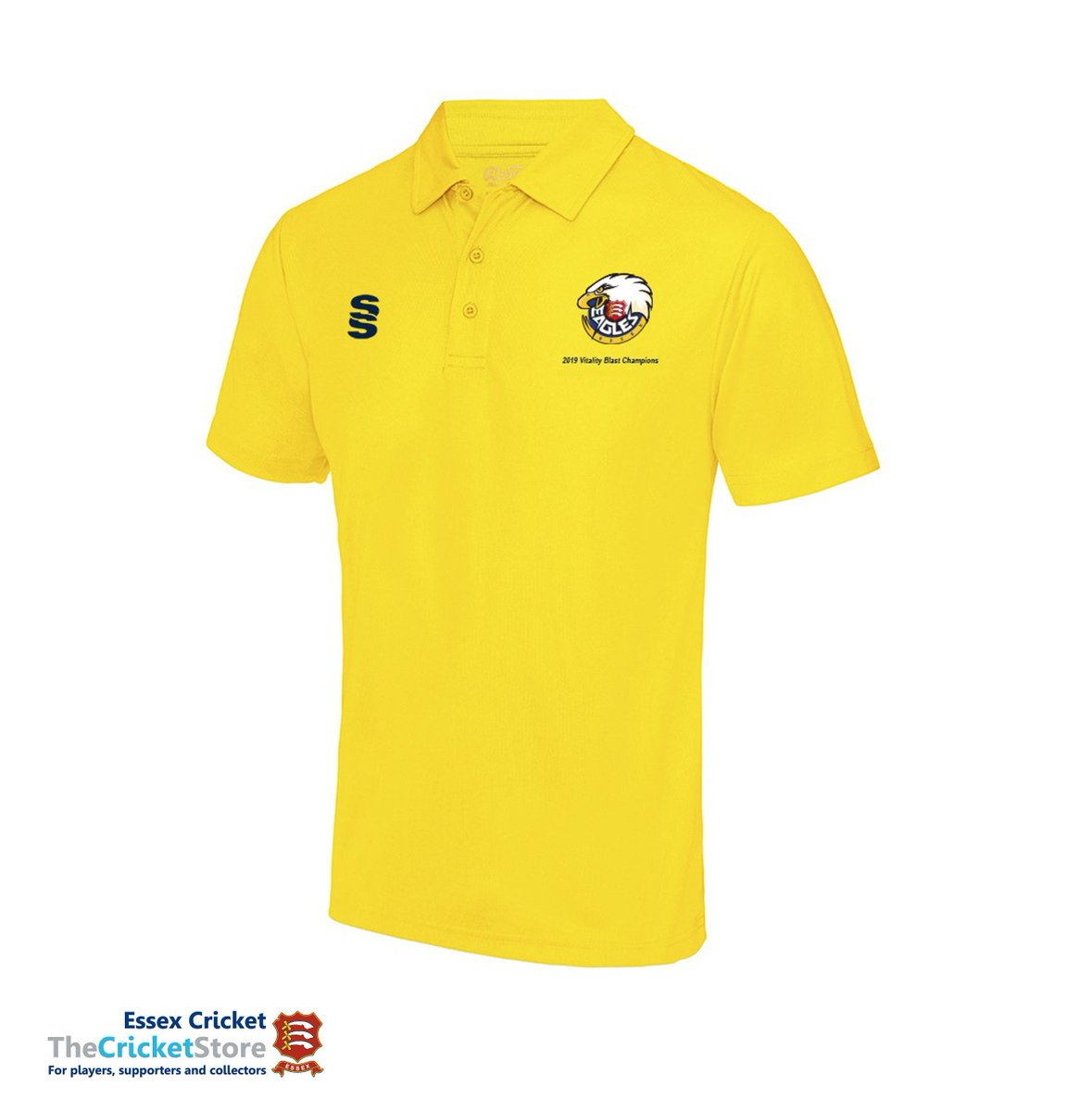 2019 T20 Champions Polos are available now! 🏏🏆 Adult Sizes: £25.00 Junior Sizes: £21.00 essexcricketshop.co.uk/product/2019-t…