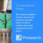 """Image for the Tweet beginning: """"We respect your privacy. We"""