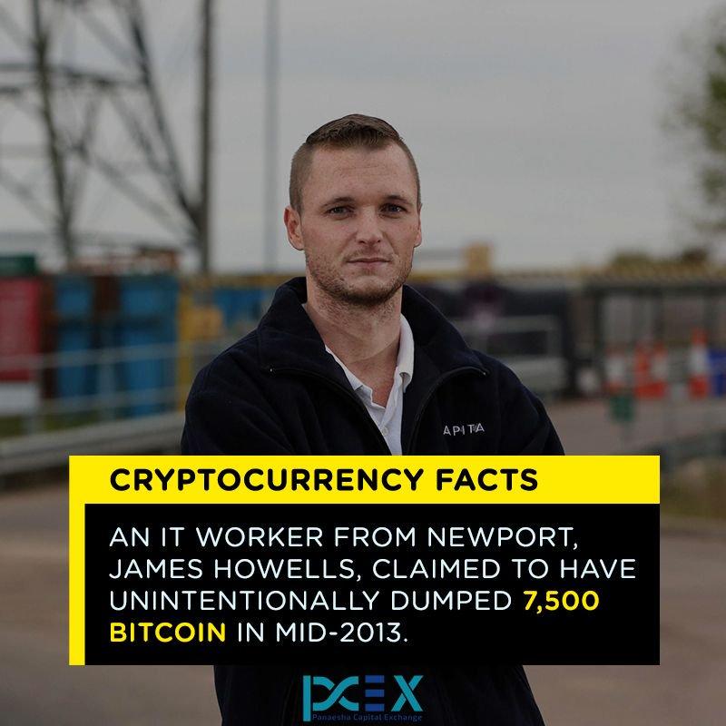 james howells bitcoin