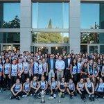 Image for the Tweet beginning: El Club Voleibol Leganés, recibido