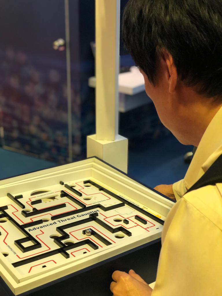 Avoid the vulnerabilities with Integrated Cyber Defense. Come and play the Escape the Cyber Labyrinth game at our booth #H02. #GovWare2019 #SymantecAtGovWare2019 https://t.co/jINgeNSv9q
