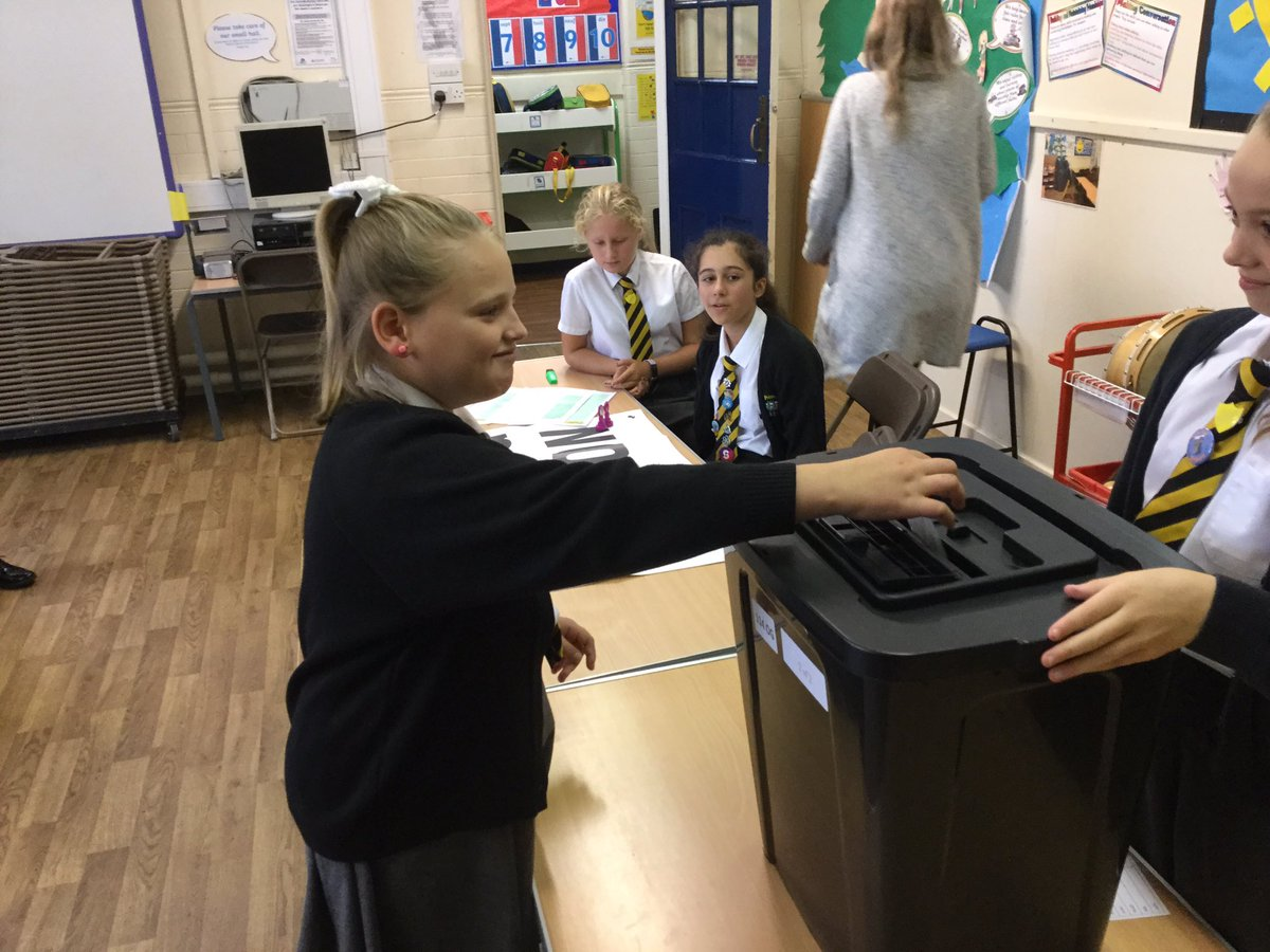 test Twitter Media - Voting has started!  Each class is voting to see who will represent them on the School Council this year.  Speeches have been heard and posters are on display with some interesting proposals!   Well done and good luck to all of the candidates. https://t.co/jguQCdpToB