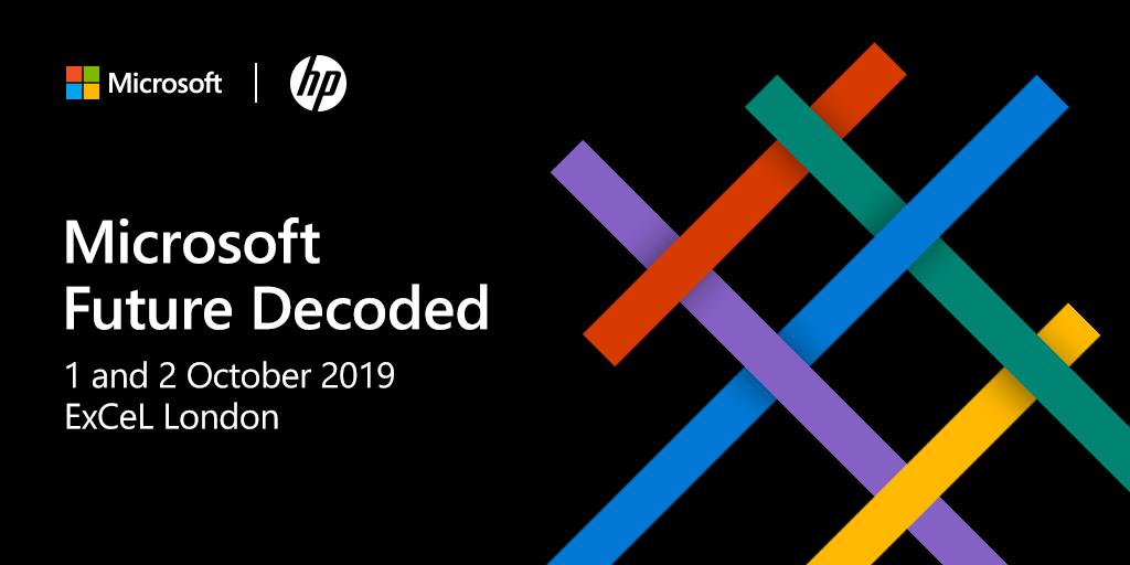 Can't make @Microsoft's Future Decoded? You can still discover the latest #tech trends by watching the livestream over the next two days: https://futuredecoded.microsoft.com/content/live  #FutureDecoded #AI #Microsoft