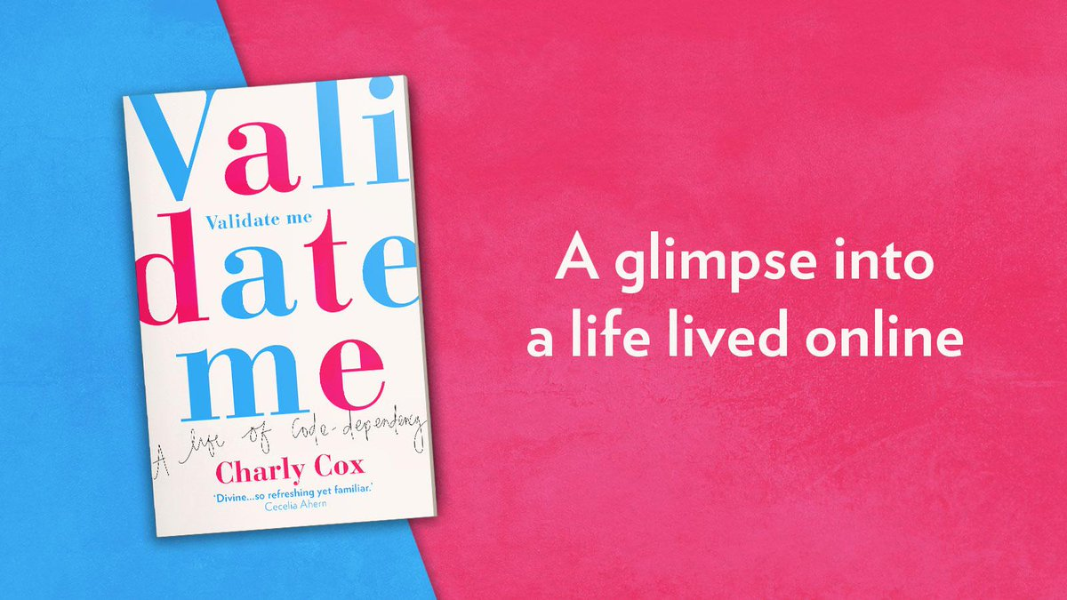 Only 2 days until #ValidateMe is out! The #countdown with @CharlyCox1 is on! 🎉🎊 Available on amzn.to/3511Gjo #NonFiction