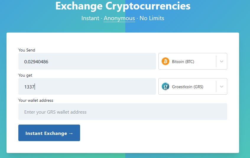 bitcoin anonymous cryptocurrency exchanges
