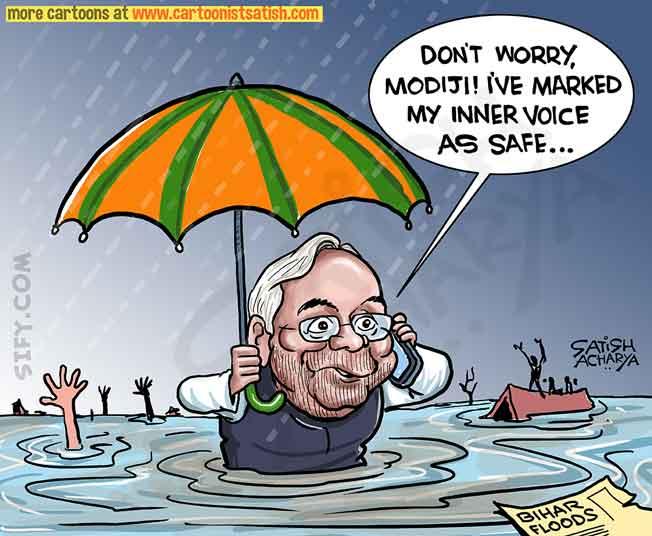 Bihar floods! @sifydotcom cartoon #BIHARfloods <br>http://pic.twitter.com/R8eAmTIoY8