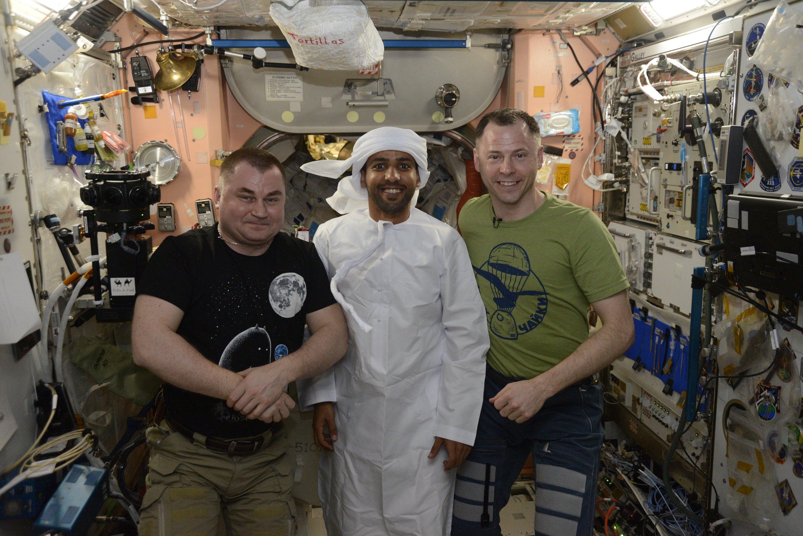 астронавт ОАЭ
