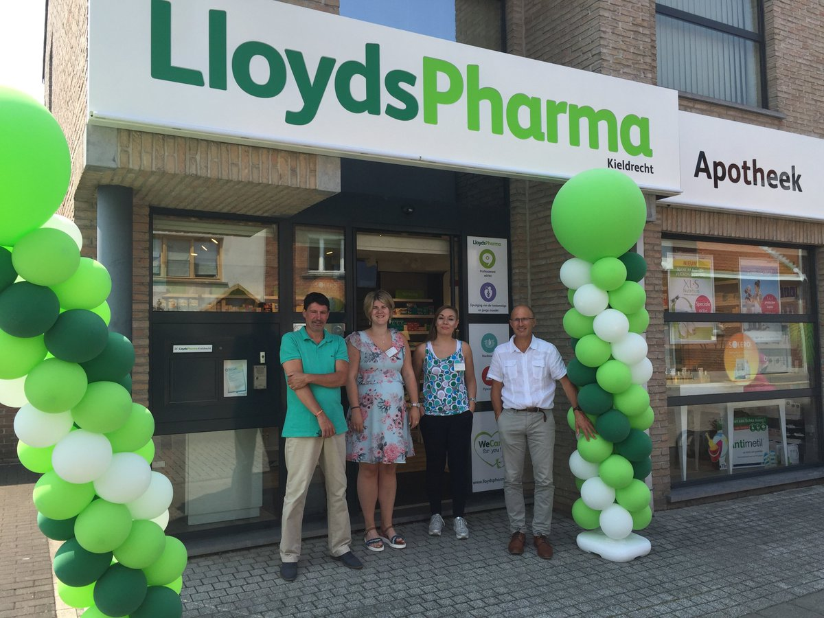 test Twitter Media - This photo of #Pharmacie #Kieldrecht in #Belgium was from their re-opening last year after we did a major transformation to their store, great to hear they are still going strong!  #CommercialFitout #Apotheek #LloydsPharma https://t.co/EJS97OkKQW