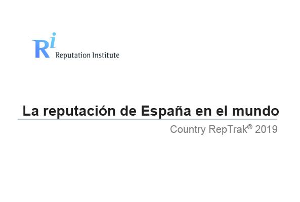 🇪🇸 La reputación de España en el mundo. #CountryRepTrack 2019 🆙 España sube dos puestos respecto al año pasado | #imagen_España Ya disponible los resultados de 2019 del informe elaborado junto a @Reputation_Inst aquí ⤵️ realinstitutoelcano.org/wps/portal/rie…
