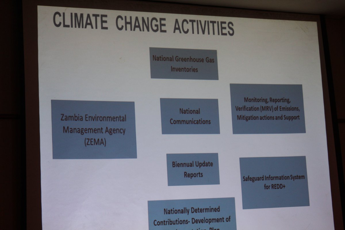 #ZEMA says there is need to incorporate GHG data requirements in the current statutory Waste, Air, effluent, returns  submitted by industries to improve accuracy of GHG  inventory @ndcpartnership @UNFCCC @UNDPZambia @RuthBWitola @friphiri