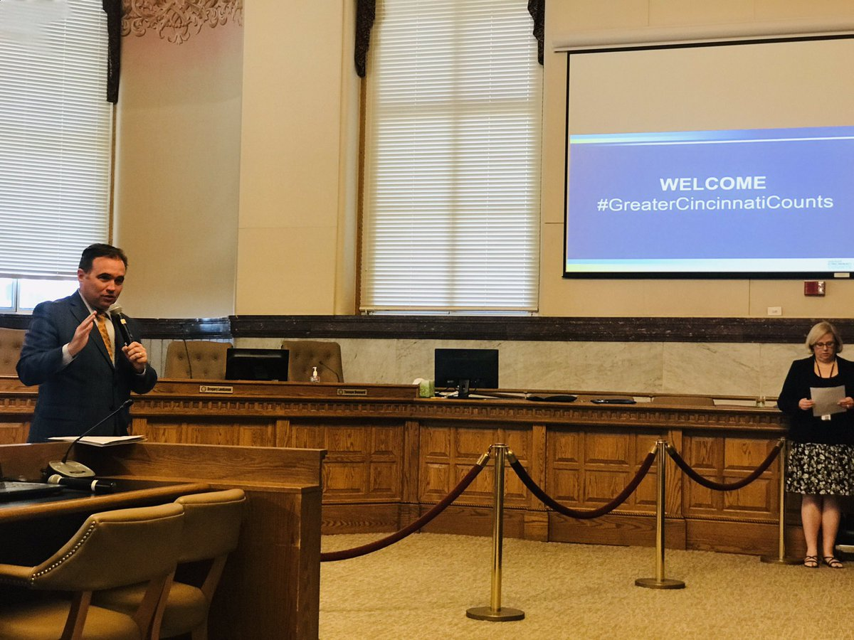 City Of Cincinnati On Twitter Mayor Cranley Kicks Off The First Meeting Of Greatercincycounts Complete Count Committee For The 2020 Census Representatives From Various Key Stakeholder Groups Taking Part In This Training