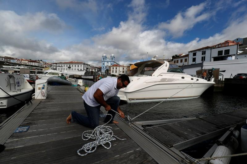 As Hurricane Lorenzo threatens Azores, residents calmly prepare