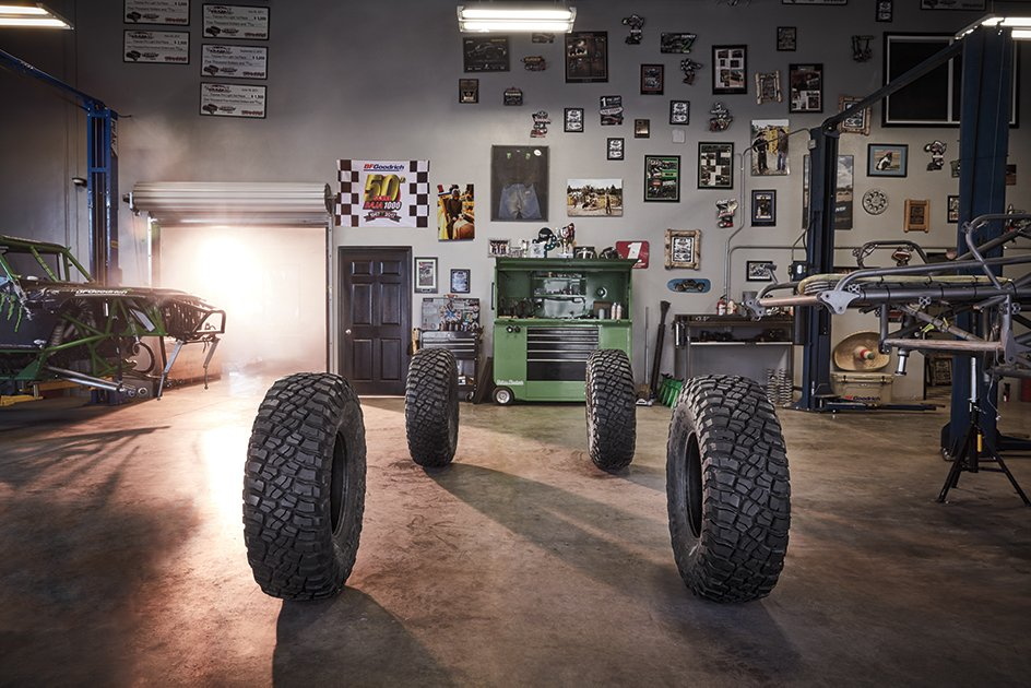 Everyone builds for something. What are you building for? #BuiltOnBFG #KM3 #BFGoodrich
