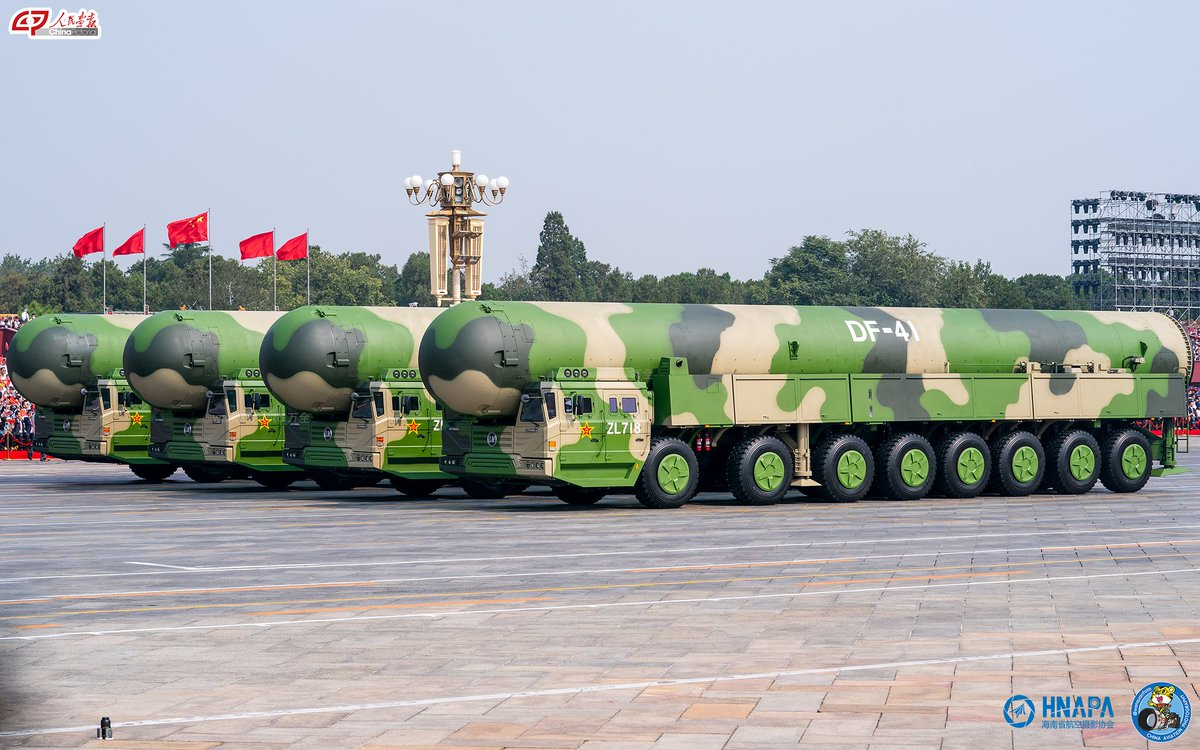 """dafeng cao on Twitter: """"High quality photos of DF-41 ICBM by wanquan.… """""""