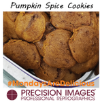 These cookies yesterday were amazing! So amazing we were too busy eating them to post a photo! #MondaysAreDelicious at #PrecisionImages #BestJobEver Thank you #ChefDavid for the Spiced Pumpkin Cookies! YUMMMY!