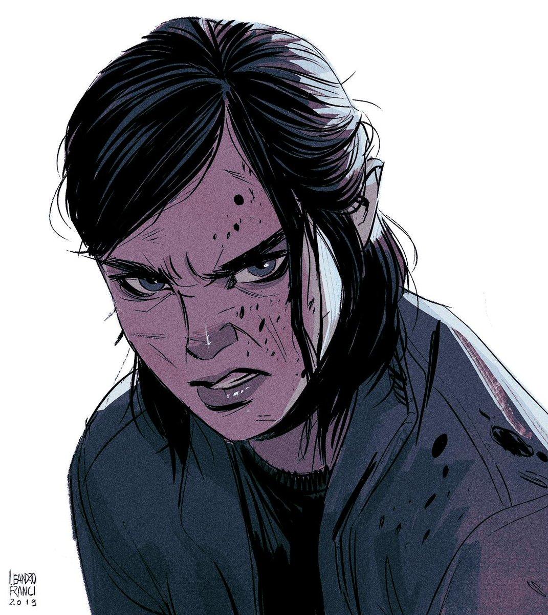 Lenadro Franci On Twitter Inktober 001 Ellie The Last Of Us 2