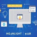 Image for the Tweet beginning: Moonlight Lux (LX) token is