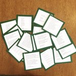 Image for the Tweet beginning: Prepping for @PoetryDayUK