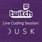 Image for the Tweet beginning: Live Coding Session! Jules de