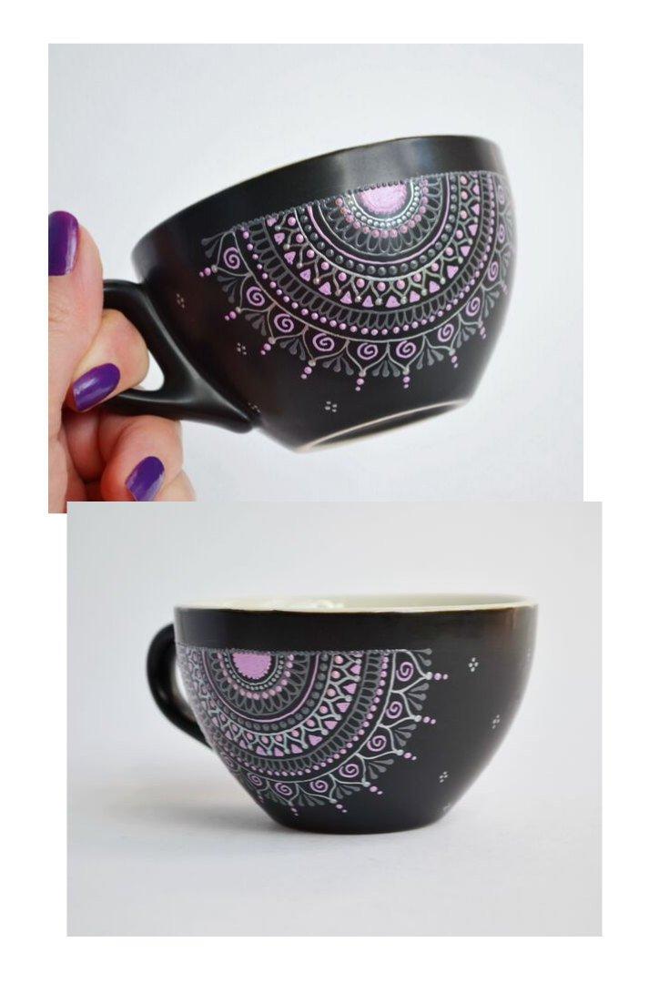 Matala Irina On Twitter Personalized Henna Art Mandala Painted Coffee Tea Cup Ceramic Mug Gift Mandala Cups Coffee Lover Gift Custome Name Mug Https T Co 9qqjqbhjw1 Housewares Black Christmas No Ceramic Personalizedcup Hennaartcup
