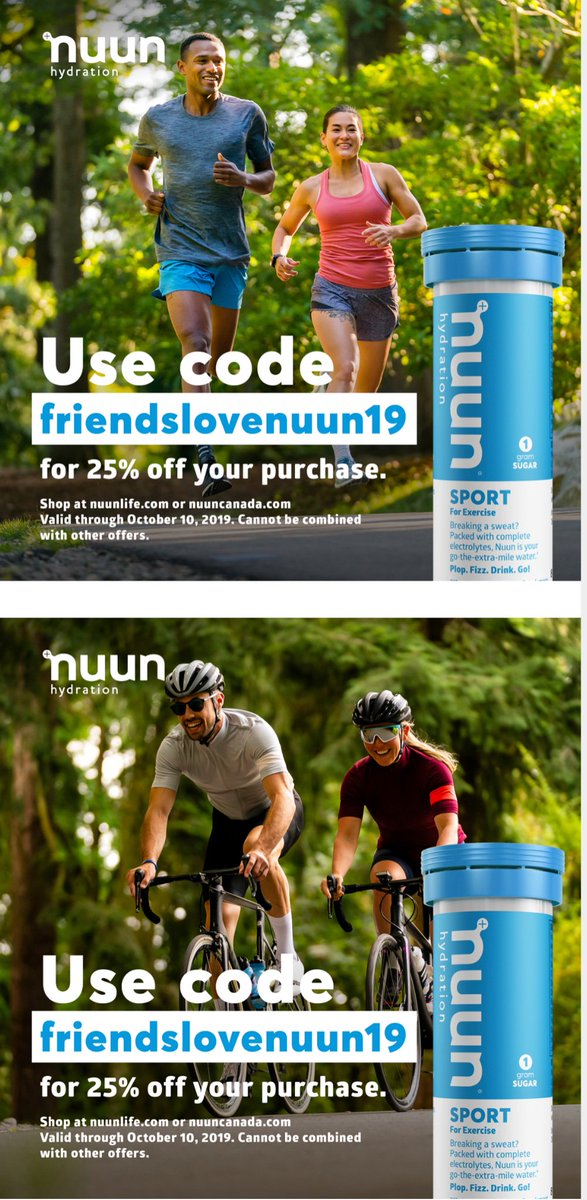 Check out the deal by @nuunhydration  I love all their products, but I use the Sport tropical tablets the most! #makeyourwatercount <br>http://pic.twitter.com/O7Hlpq1iF2