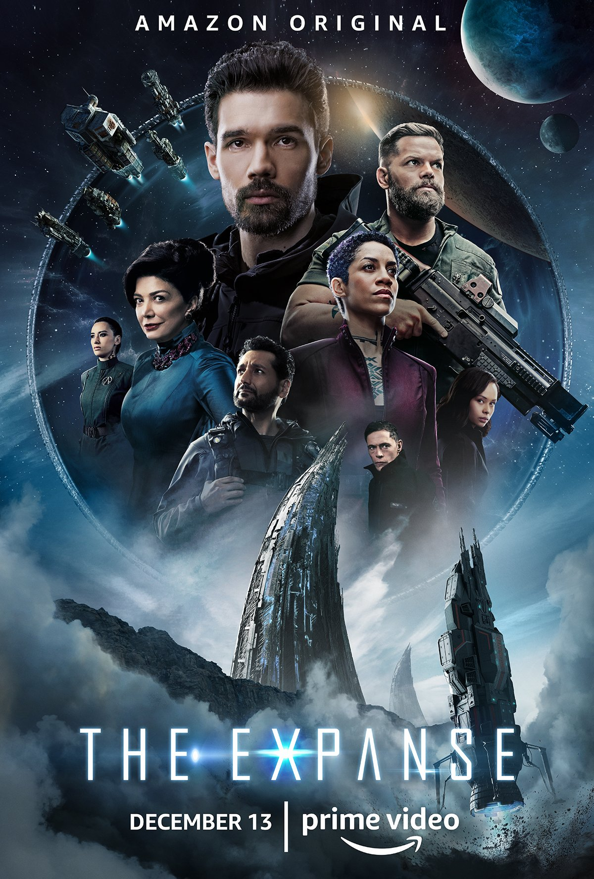 the expanse quarta stagione poster