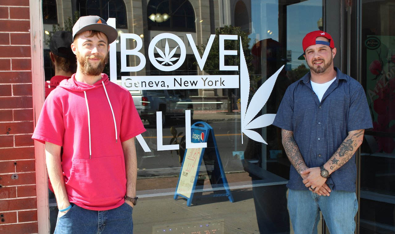 RISE ABOVE THE VAPE: Above All embraces CBD and hemp products as NY policy forces shift