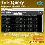 Image for the Tweet beginning: #TrueData #Cheetah #TickQuery ✔ Scan the