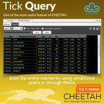 Image for the Tweet beginning: #TrueData #Cheetah #TickQuery ✔ Scan the