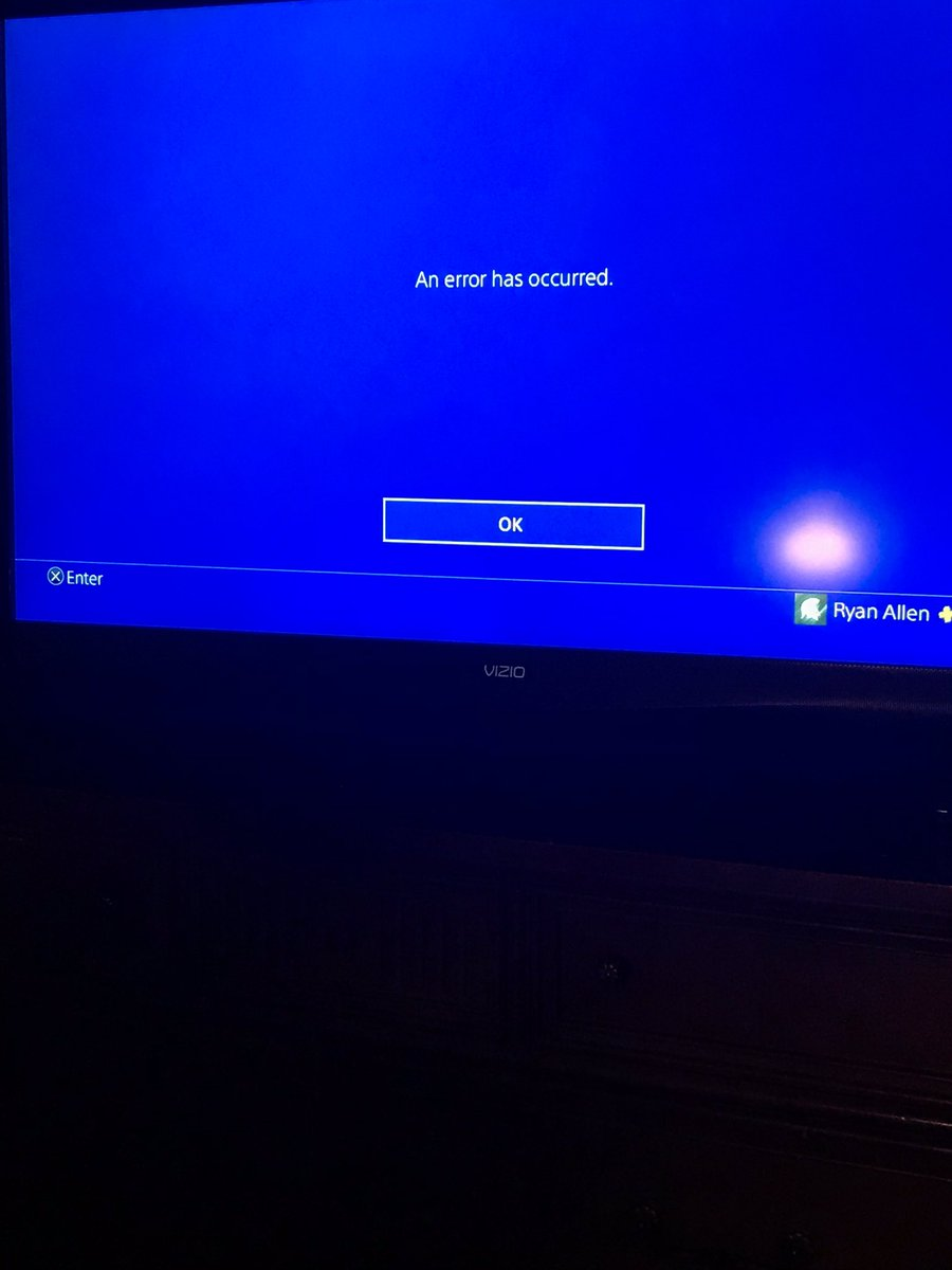 What's this happening for can't sign on to PlayStation anyone know
