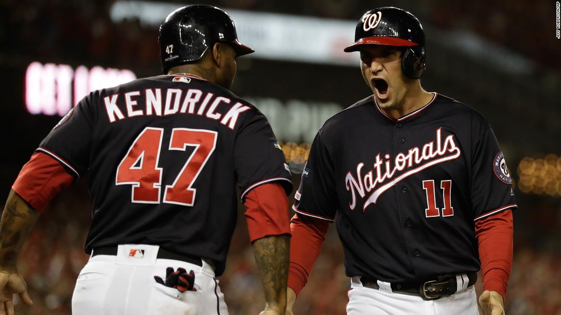 The Washington Nationals are going to the World Series for the first time after beating the St. Louis Cardinals in a resounding four-game sweep cnn.it/31f4A17