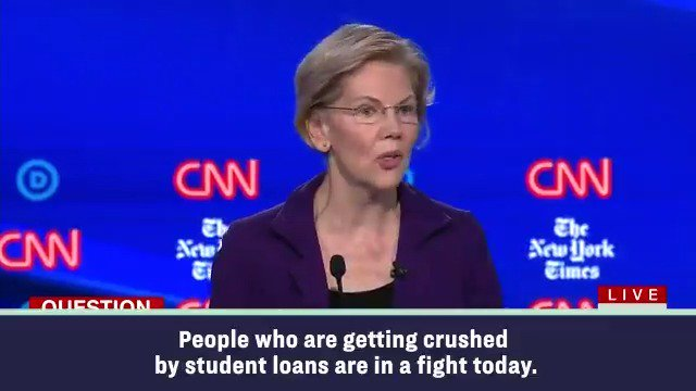 I know what's broken, I know how to fix it, and I'm willing to get out and fight for it. #DemDebate