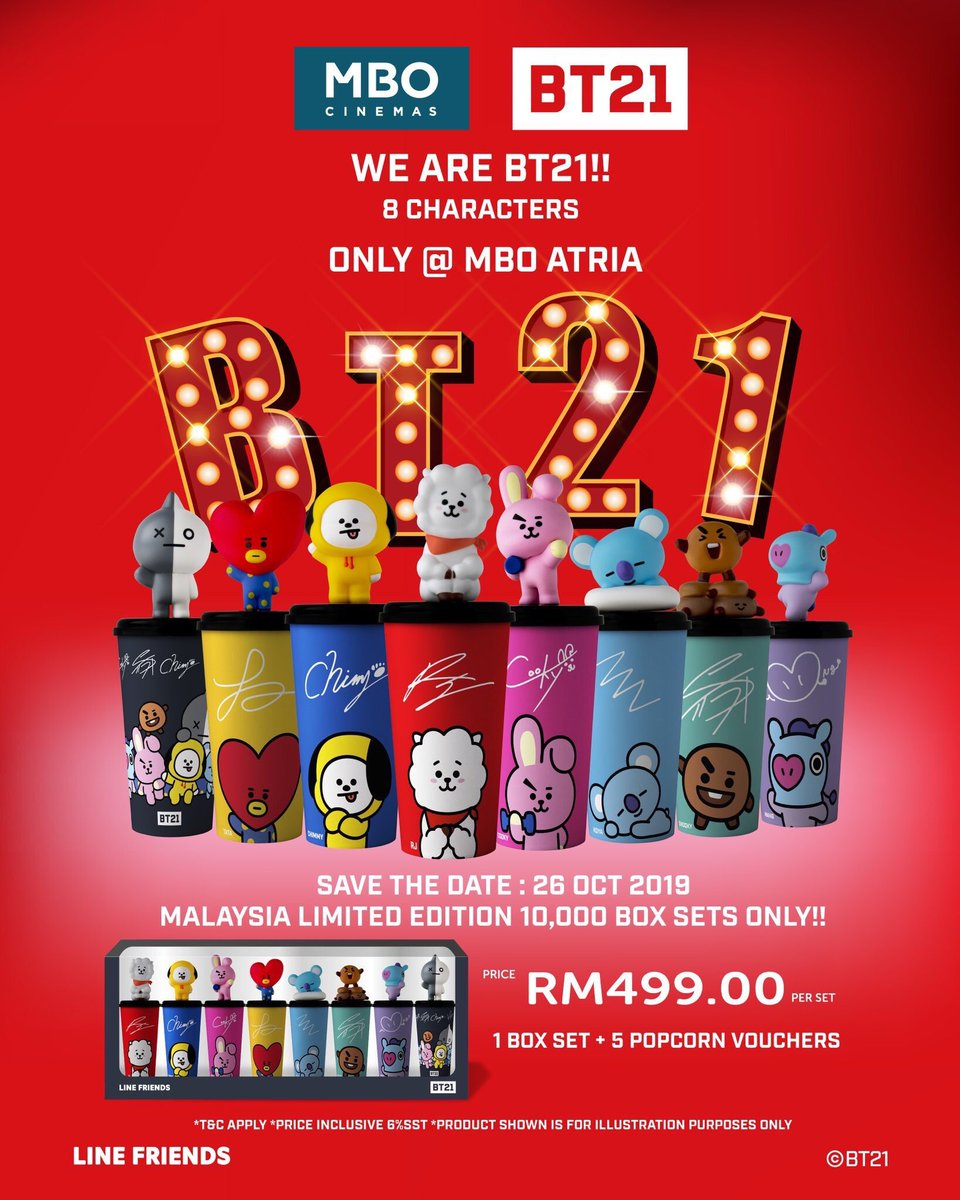 [HELP RT] anyone wants to buy BT21 x MBO tumblr?  Character available: Chimmy  RM62.50 <br>http://pic.twitter.com/KuY4j0xQdV