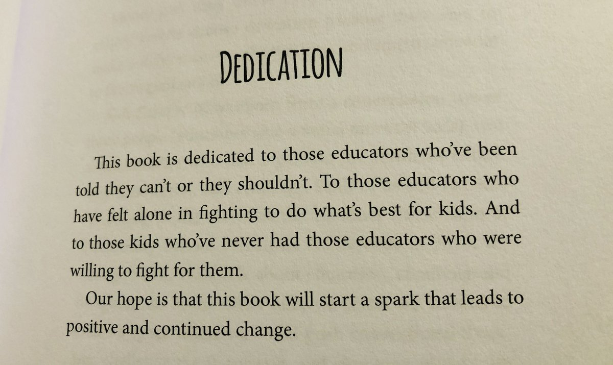 A4 - My answer is the Dedication to #KidsDeserveIt - says it all right there!