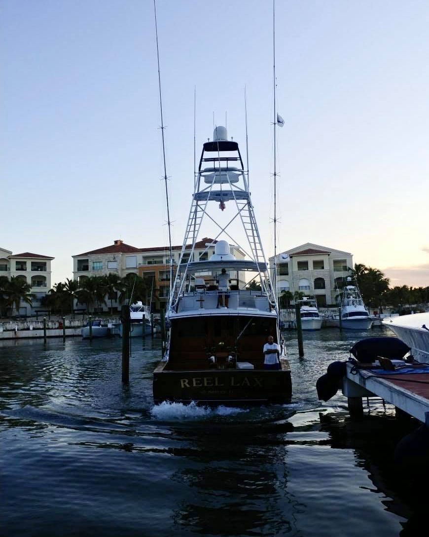 Cap Cana, DR - Reel Lax went 2-3 on Blue Marlin.