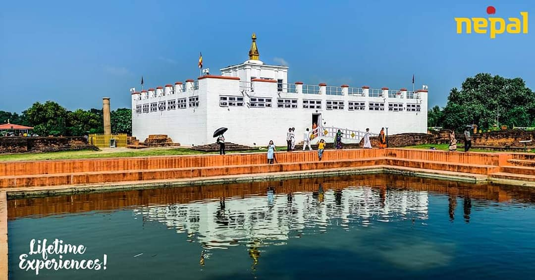 To get 'Lifetime Experiences!' visit Lumbini:  the sacred birthplace of Lord Buddha.#visitnepal2020 #visitlumbini2076 #visitlumbini #visitlumbininow #mayadevitemple #UNESCO #worldheritagesite #lifetimeexperiences #nepalnow #onceisnotenough