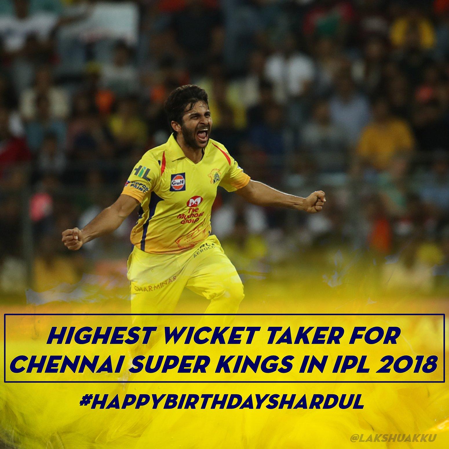 Shardul Thakur Chennai Super Kings Latest Images Tweets Updates