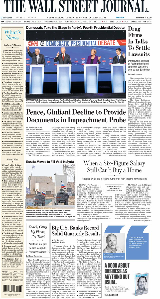 Take an early look at the front page of The Wall Street Journal  http://www. wsj.com     <br>http://pic.twitter.com/mqKk9xJnUR