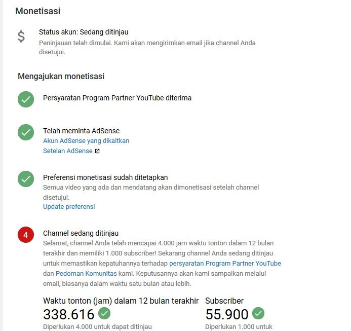 Dear  @TeamYouTube  Please review my channel, i waited is 3 months.  - All videos is public - Subscribers 55.900 k more - Watch time = 338.616 hours more - My content is orginal, entertainment.  Please team youtube, i hope.. Please help.   https://www. youtube.com/channel/UCBvS7 9Nh0AUrEJnnv9ZZ3MQ  … <br>http://pic.twitter.com/XOorn0rQKC