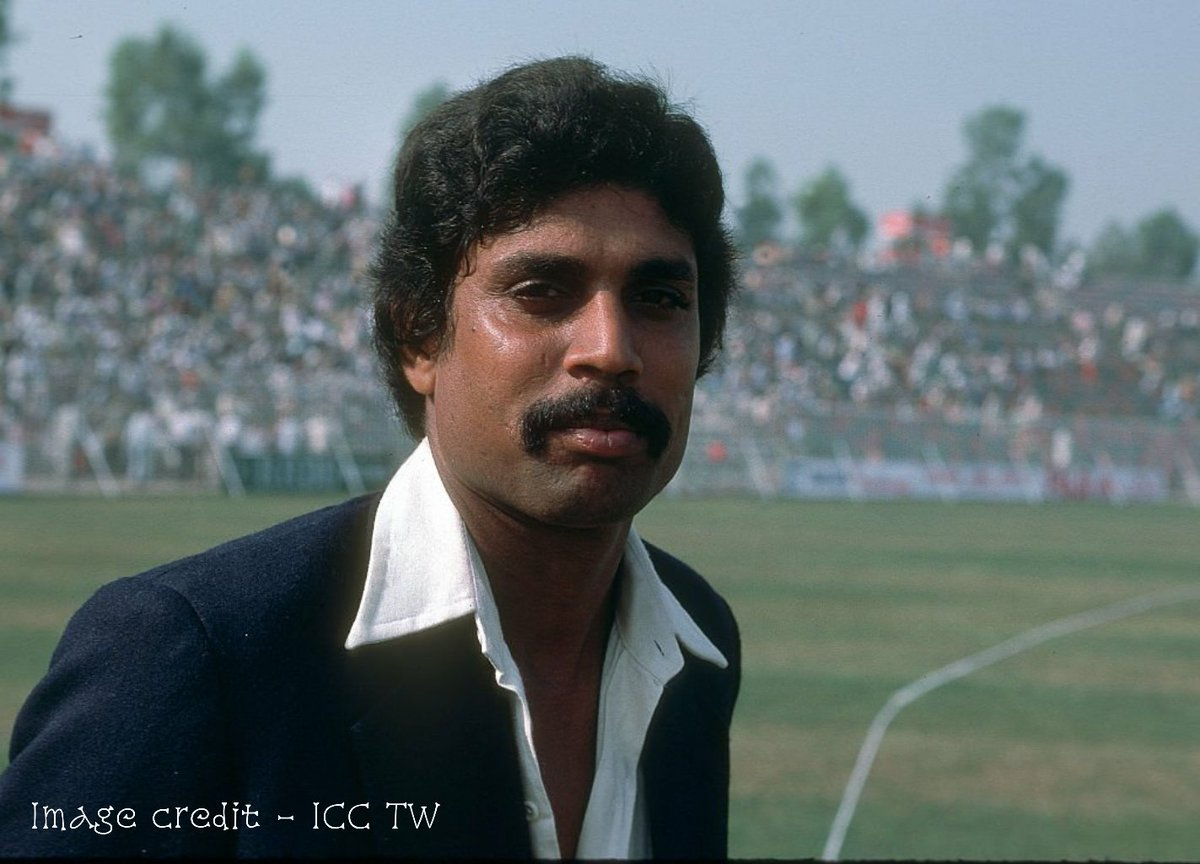 This day has already been registered in the history of world cricket. 🏏 . . . Since 👇🏻 . . . #OnThisDay, #TeamIndias first world cup winning captain, @therealkapildev made his debut in 1978. 🙌🏻 . . . #IndianSports #UltimateSports @ICC