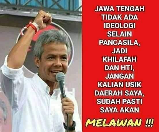 Ini Gubernur Jawa Tengah Namanya #ganjarpranowo
