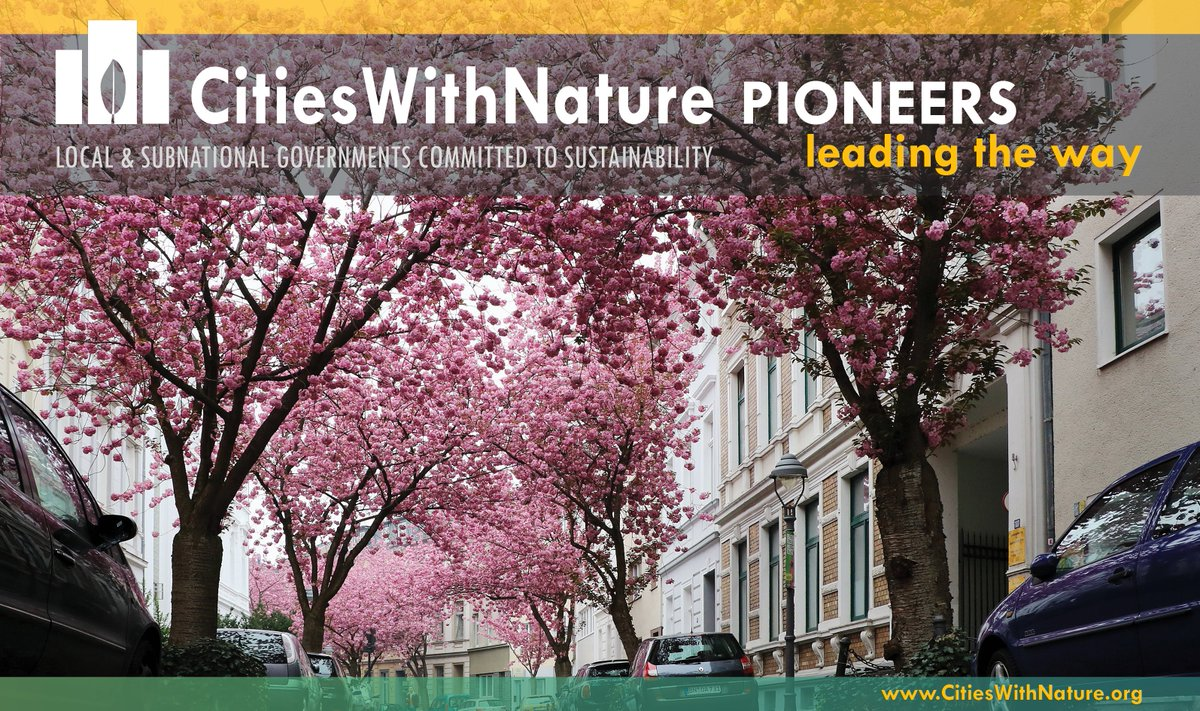 RT @CitiesWNature #CitiesWithNature #LeadingTheWay on mainstreaming #nature in #cities.  The City of #Bonn's Mayor, @AshokSridharan1, has announced the planting of around 25,000 #trees by the end of 2020.  More on @ICLEI: https://t.co/1A4iJ6O8TD @BonnGlobal @Cities4Forests @GPFLRtweets @IucnUrban