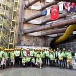 Image for the Tweet beginning: F.Altay-Narlıdere Metrosu'ndaki çalışmalarımıza ara vermeden